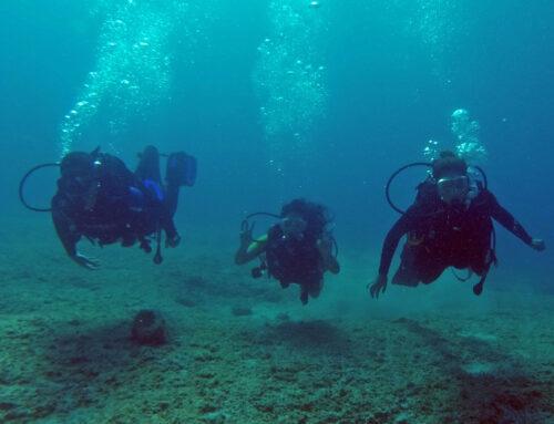 Κατάδυση στα Λεγρενά – Dive at Legrena 4/10